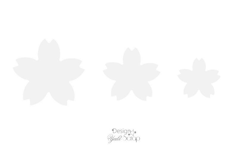 Gabarit fleurs sakura