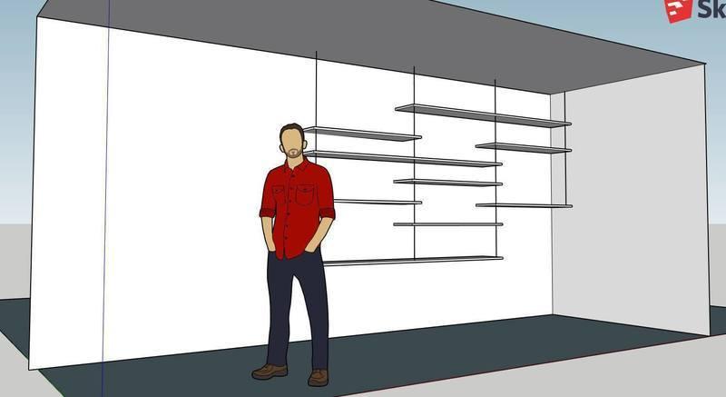 Plan etageres 1