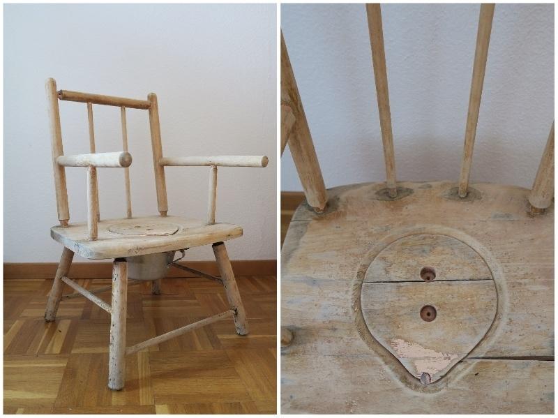 Chaise pot 1969