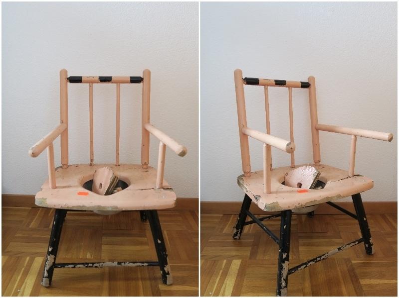 Pot chaise avant 1