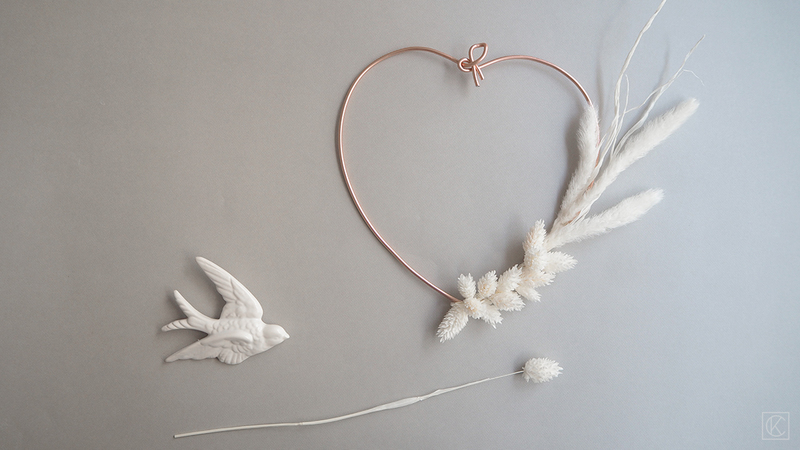Diy couronne fleurs sechees coeur kraftandcarat 00