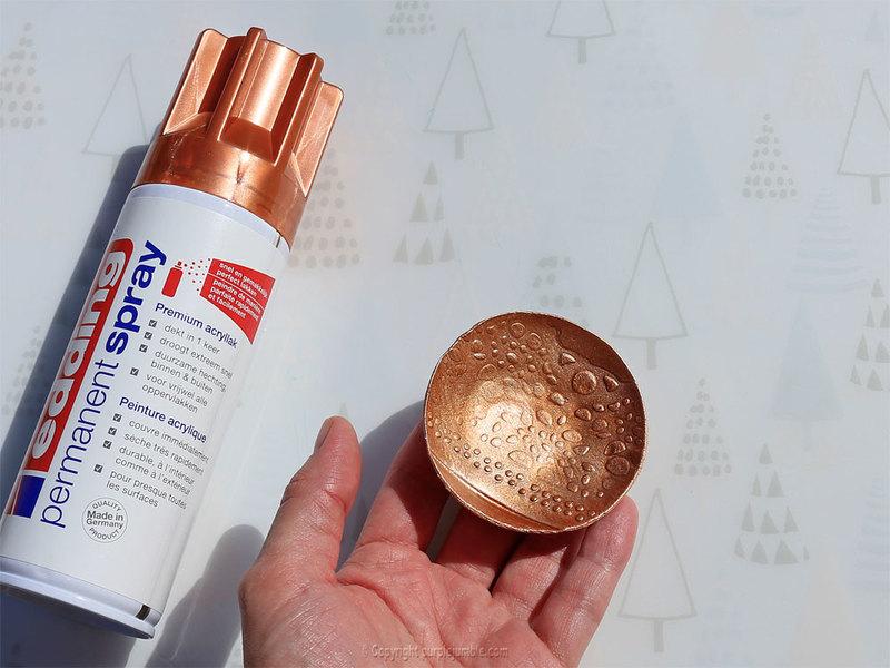 Diy coupelles peinture metallis%c3%a9e edding 7