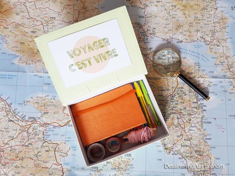 Travel art box dessine moi un prenom10