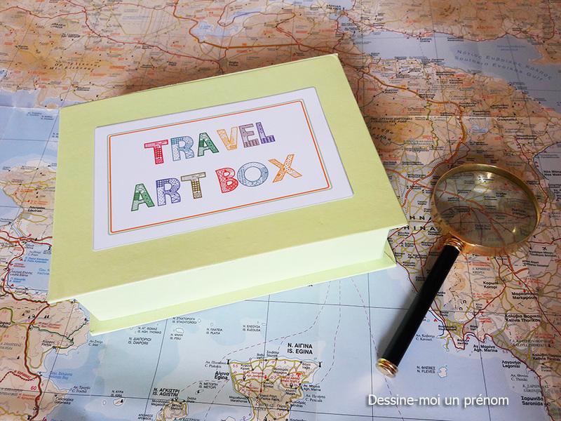 Travel art box dessine moi un prenom11