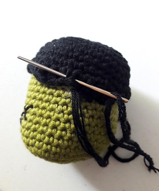 Oam creature crochet 25