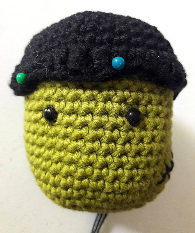 Oam creature crochet 24