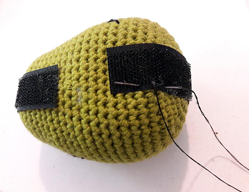 Oam creature crochet 33