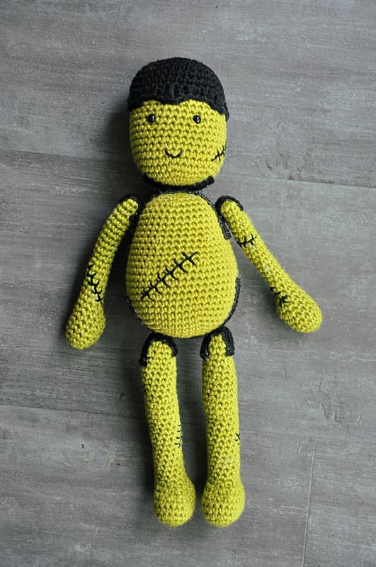 Oam creature crochet 34