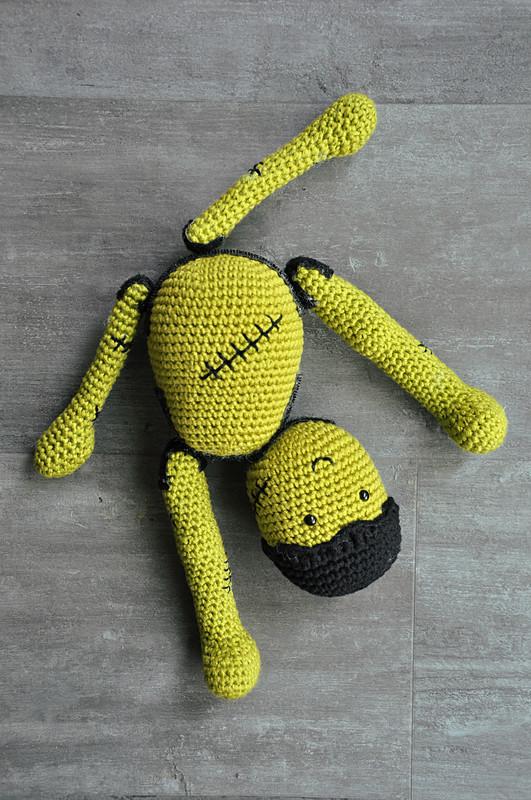 Oam creature crochet 36