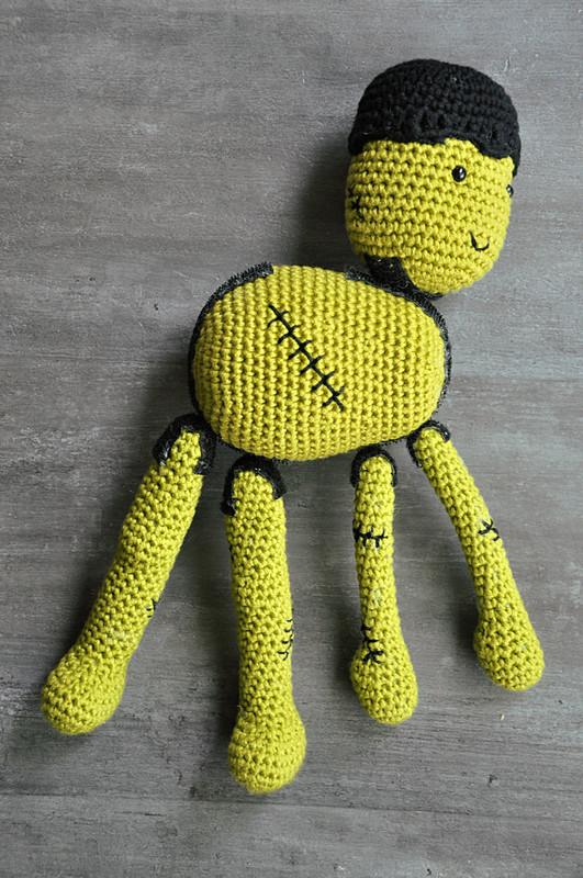Oam creature crochet 38