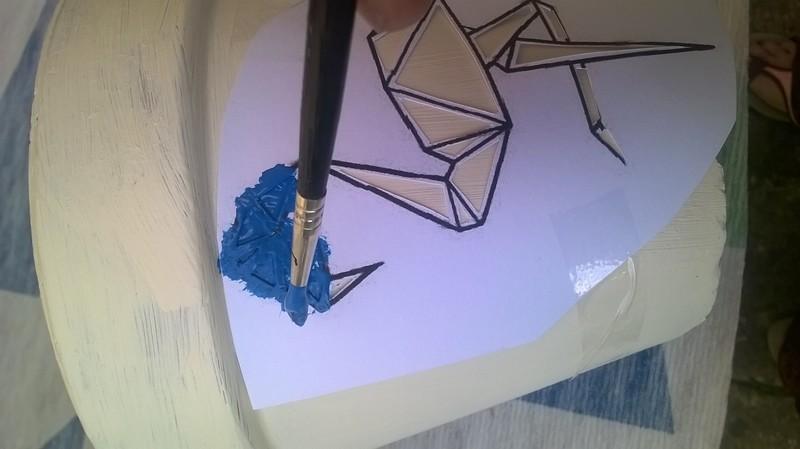 Mise en peintur