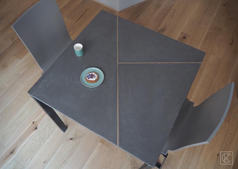 Ikeahack table melltorp beton laiton kraftandcarat 19