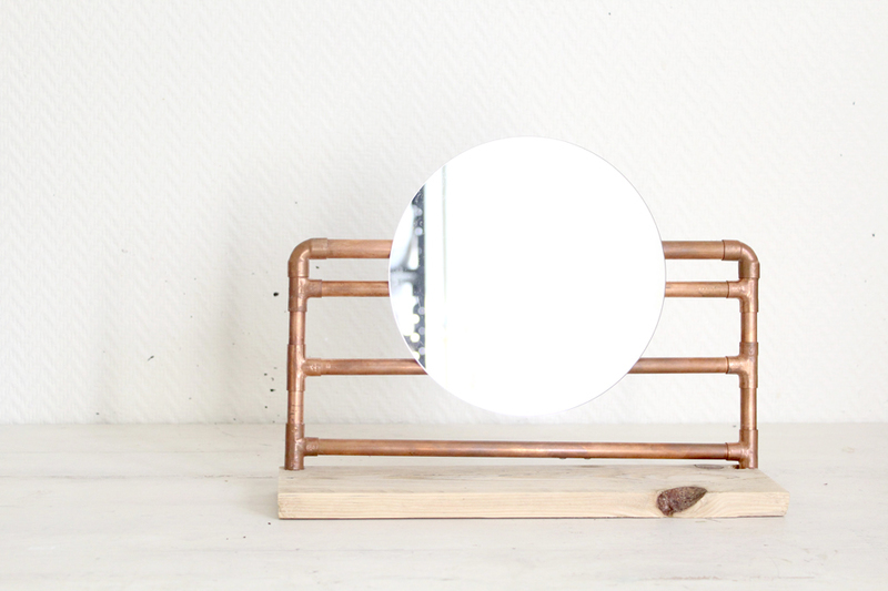 Operation creation blog diy upcycling miroir 8bis