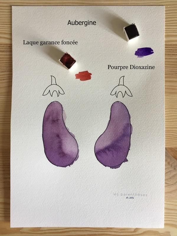 Couleur aubergine