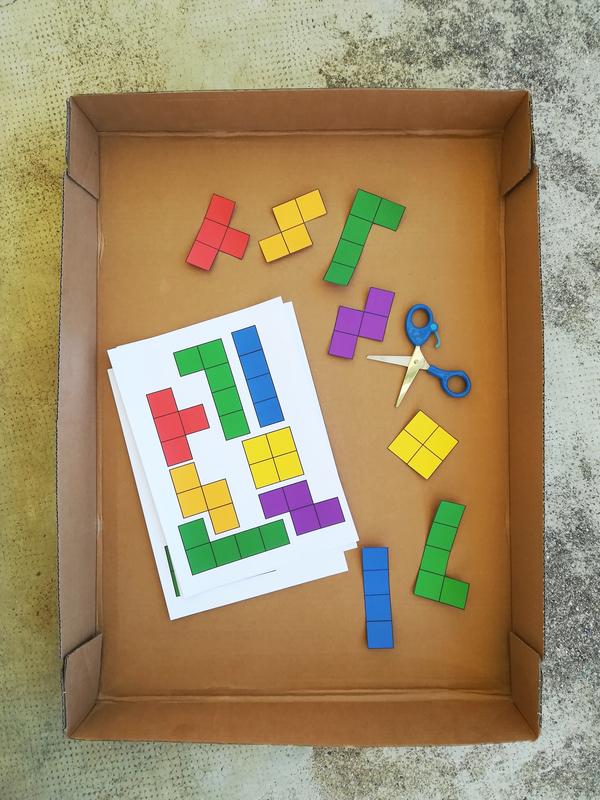 Diy jeu tetris enfant