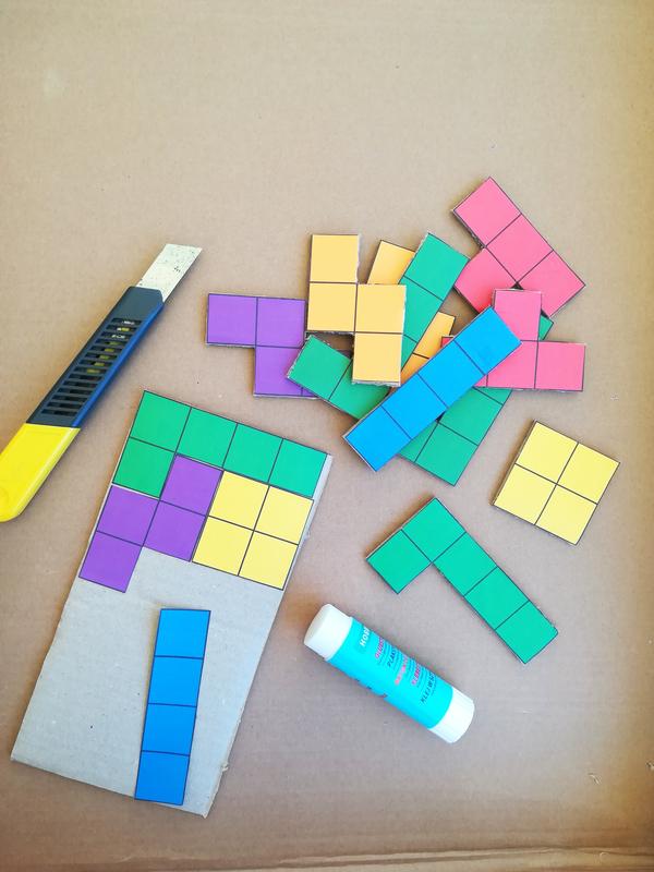 Diy jeu tetris geant