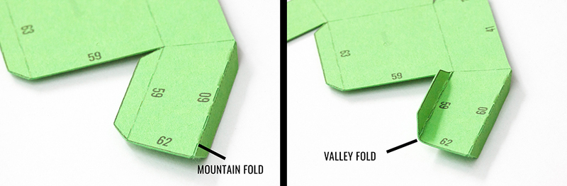 Fold your free papercraft 1000