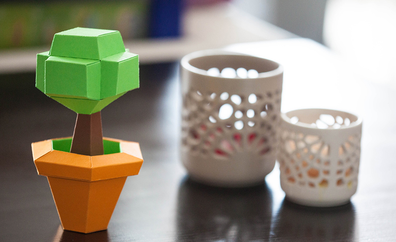 Bonsai free papercraft