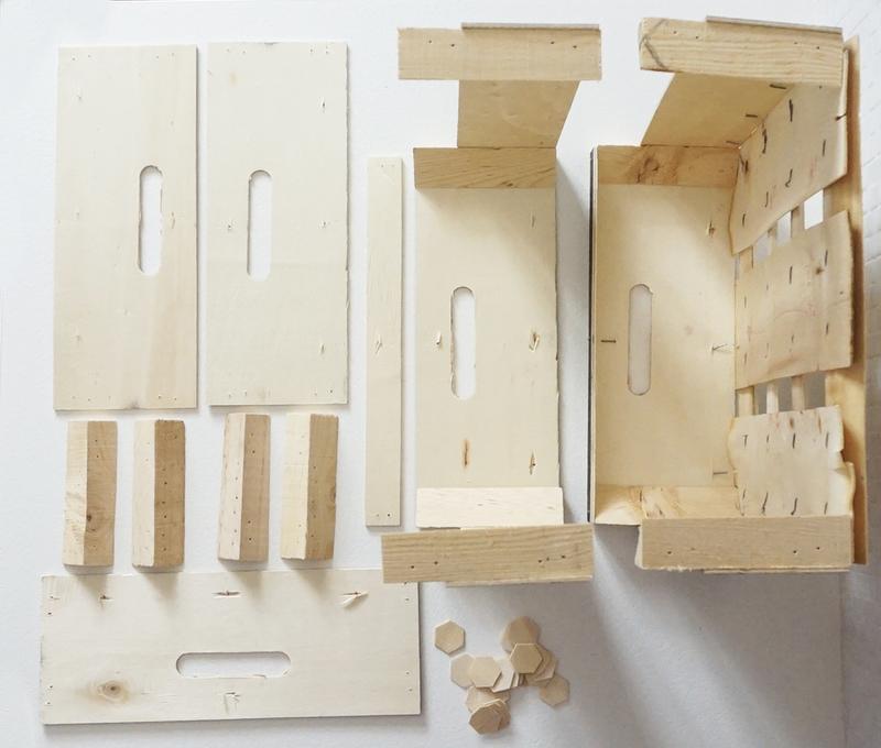 Pieces cagette