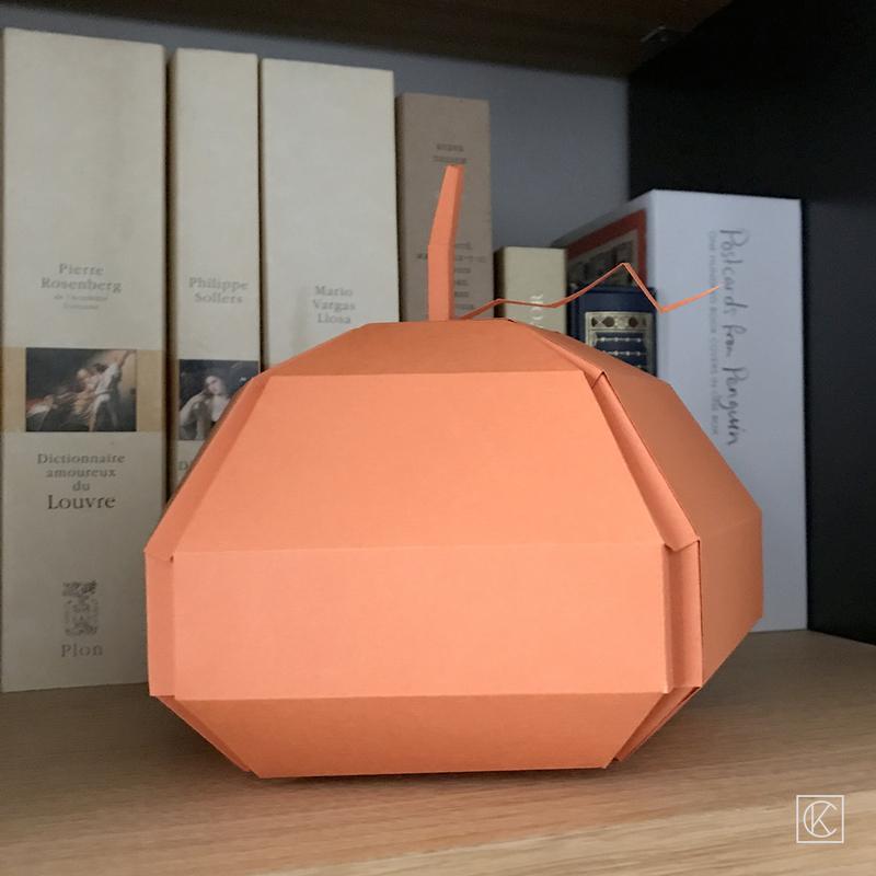 Diy paper halloween pumpkin kraftandcarat 22bd