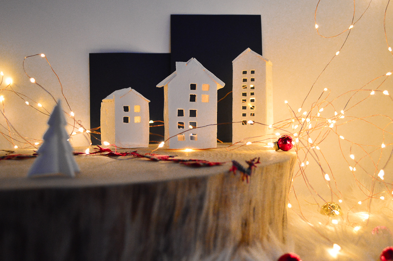 Diy maisons photophores